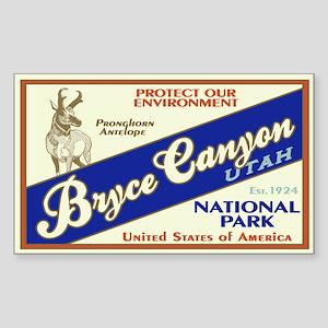 Bryce Canyon (Antelope) Rectangle Sticker