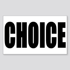 CHOICE Sticker (Rectangle)
