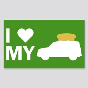 Element Lovers: I Heart My Toaster Sticker