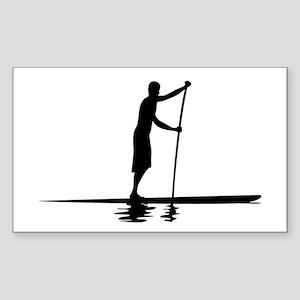 Paddleboarder MkI Rectangle Sticker