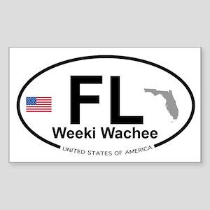Florida City Sticker (Rectangle)