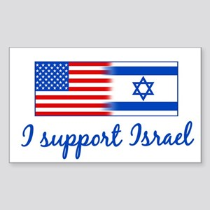 Support Israel Sticker (Rectangle)