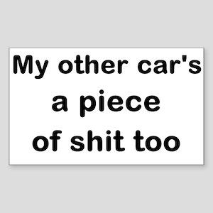 POS Car Sticker (Rectangle)