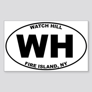 Watch Hill Fire Island Sticker (Rectangle)