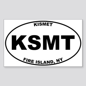 Kismet Fire Island Sticker (Rectangle)