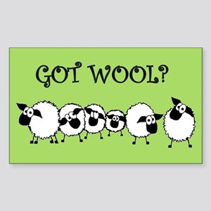 GOT WOOL? Sticker