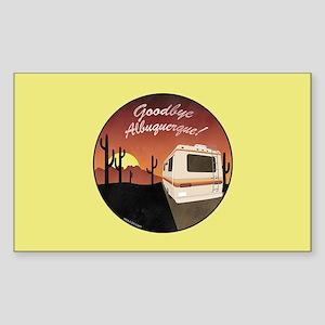 Goodbye Albuquerque Sticker (Rectangle)