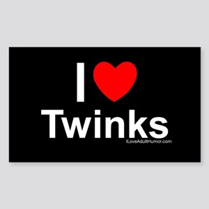 Twinks Sticker (Rectangle)
