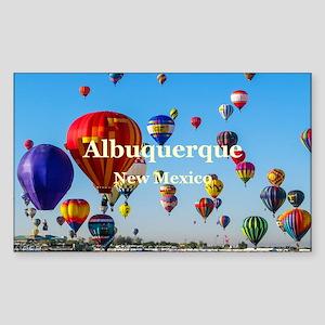 Albuquerque Sticker (Rectangle)