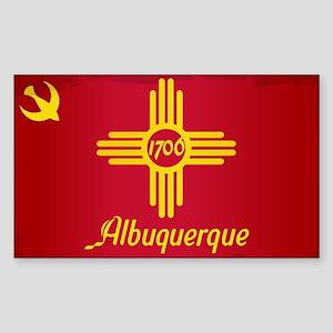 Albuquerque City Flag Sticker