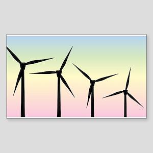 Wind Farm Morning Sticker