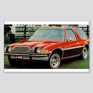 AMC Pacer Wagon Rectangle Sticker