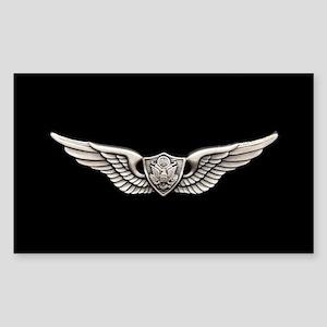 Aviation Crew Member Sticker (Rectangle)