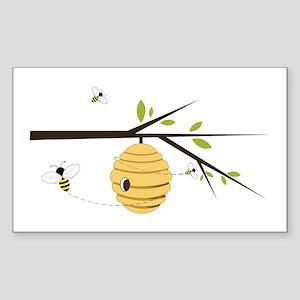 Beehive Sticker