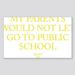 USC PLBLIC SCHOOL Sticker