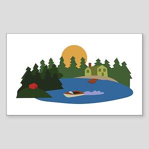 Lake House Sticker