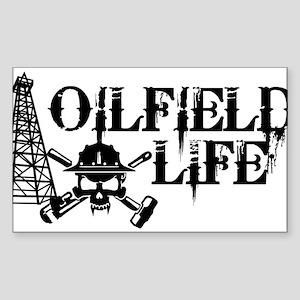 oilfieldlife2 Sticker