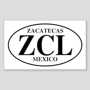 ZCL Zacatecas Rectangle Sticker