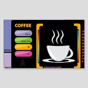 Star trek coffee Sticker