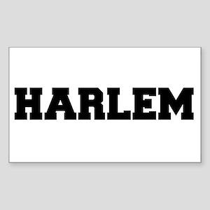 Harlem Logo Sticker (Rectangle)