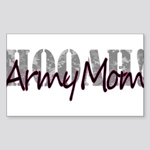 Army Mom Sticker (Rectangle)