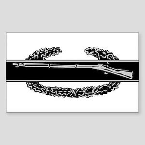 Combat Infantry Badge Rectangle Sticker