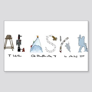 The Great Land - Color Sticker