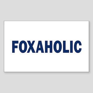 Fox aholic v2 Sticker (Rectangle)