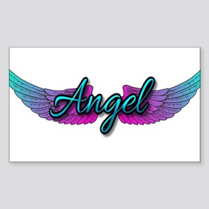 Angel Sticker (Rectangle)