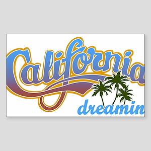 CALIFORNIA DREAMIN Sticker