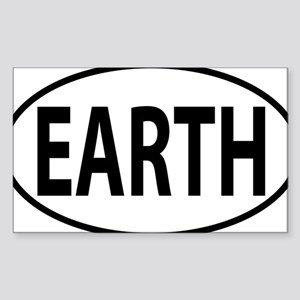 EARTH Sticker (Rectangle)
