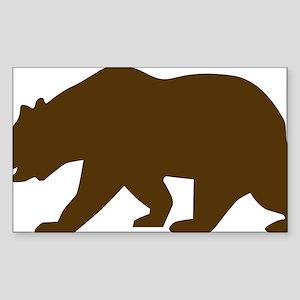 Bear Sticker (Rectangle)