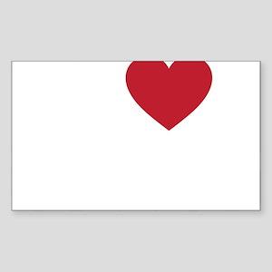 I Love Cairo Sticker (Rectangle)