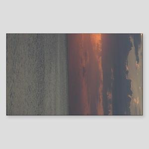 Sunriseprintright_side Sticker (Rectangle)