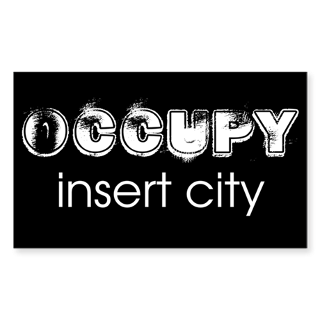 Occupy Your City Sticker (Rectangle)