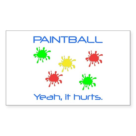 Paintball Hurts Blue