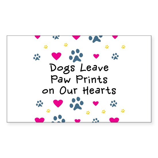 Dogs Leave Paw Prints on Our Hearts