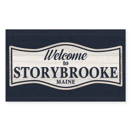 Welcome To Storybrooke Sticker (Rectangle) Welcome To ...