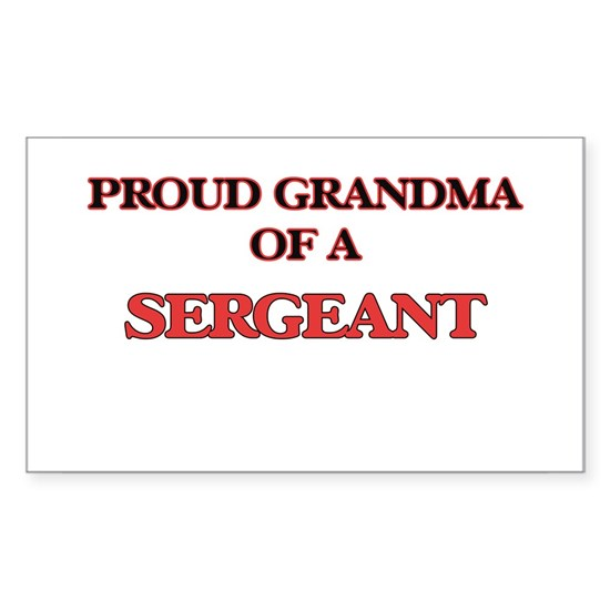 Proud Grandma of a Sergeant