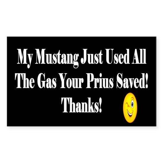 My Mustang Just Used All The Gas Your6