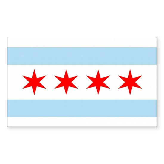 chicago flag rectangle 1