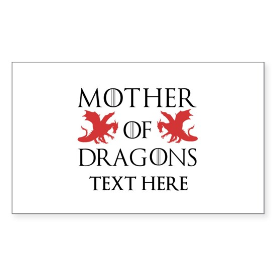 Mother of Dragons Personalized