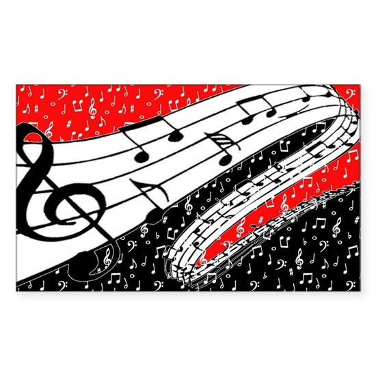 Red and black music theme