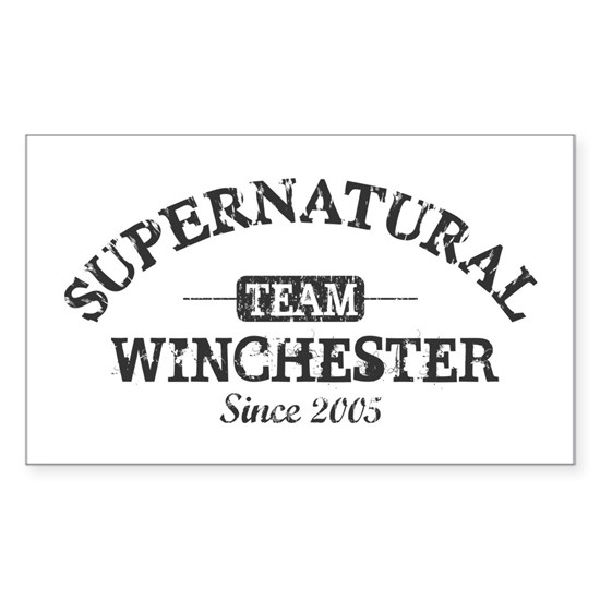SUPERNATURAL Team Winchester gray