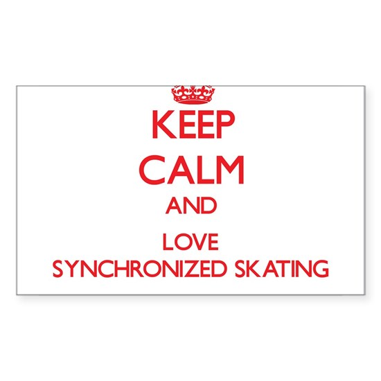 Keep calm and love Synchronized Skating