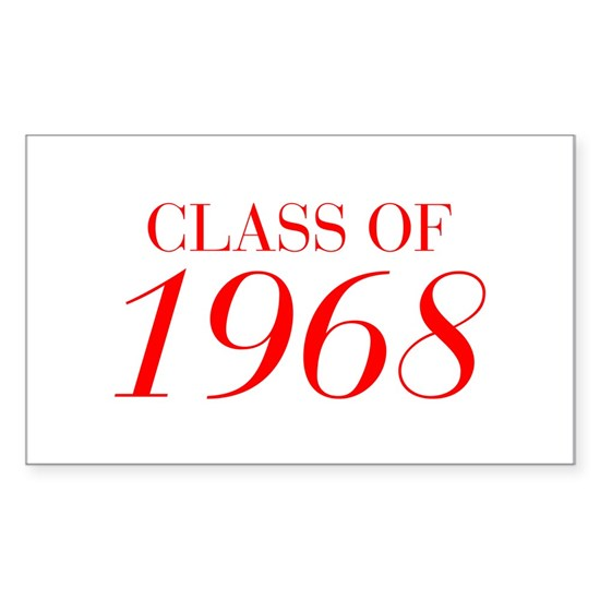 CLASS OF 1968-Bau red 501