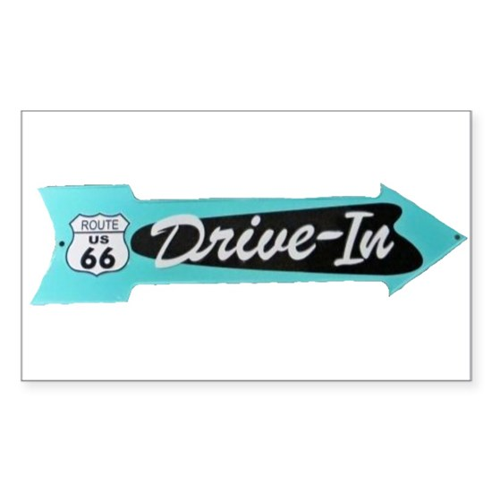 Vintage - Drive-In Sign