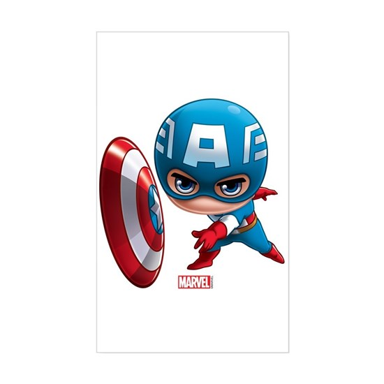 Chibi Captain America 2