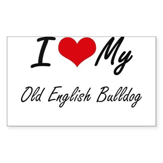 I love my Old English Bulldog