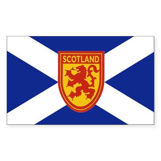St Andrews Cross Royal Lion Shield 2